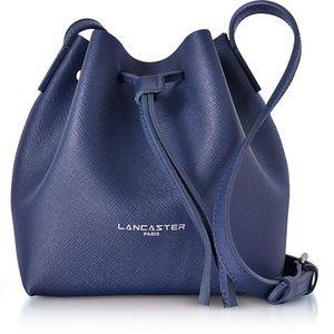 Lancaster Paris Pur Saffiano Small Bucket Bag